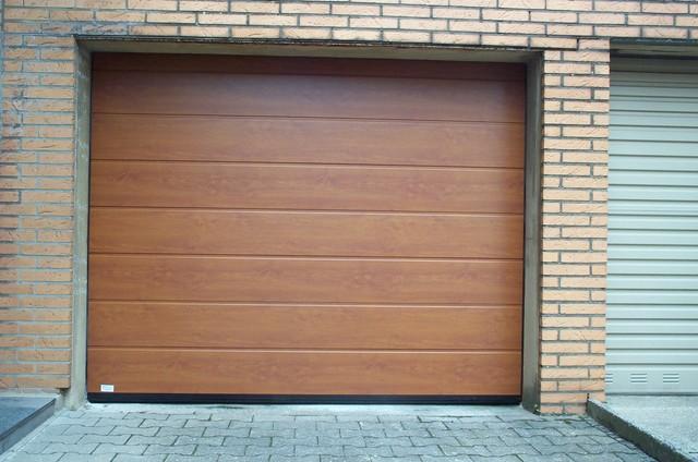 Garagentore Köln garagentor hörmann m sicke in decograin golden oak landhausstil