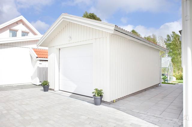 Enkelgarage Attefallsgarage Scandinavian Garage