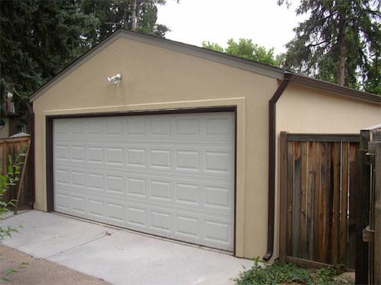 2 car gable garages for Garage gable