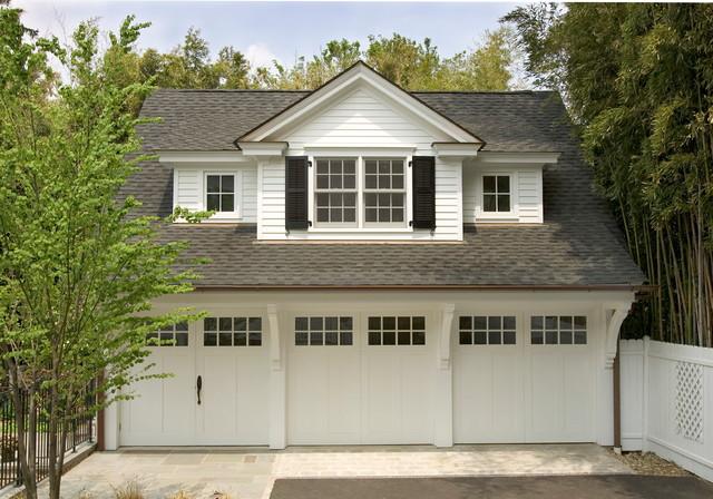 3 car garage traditional-garage