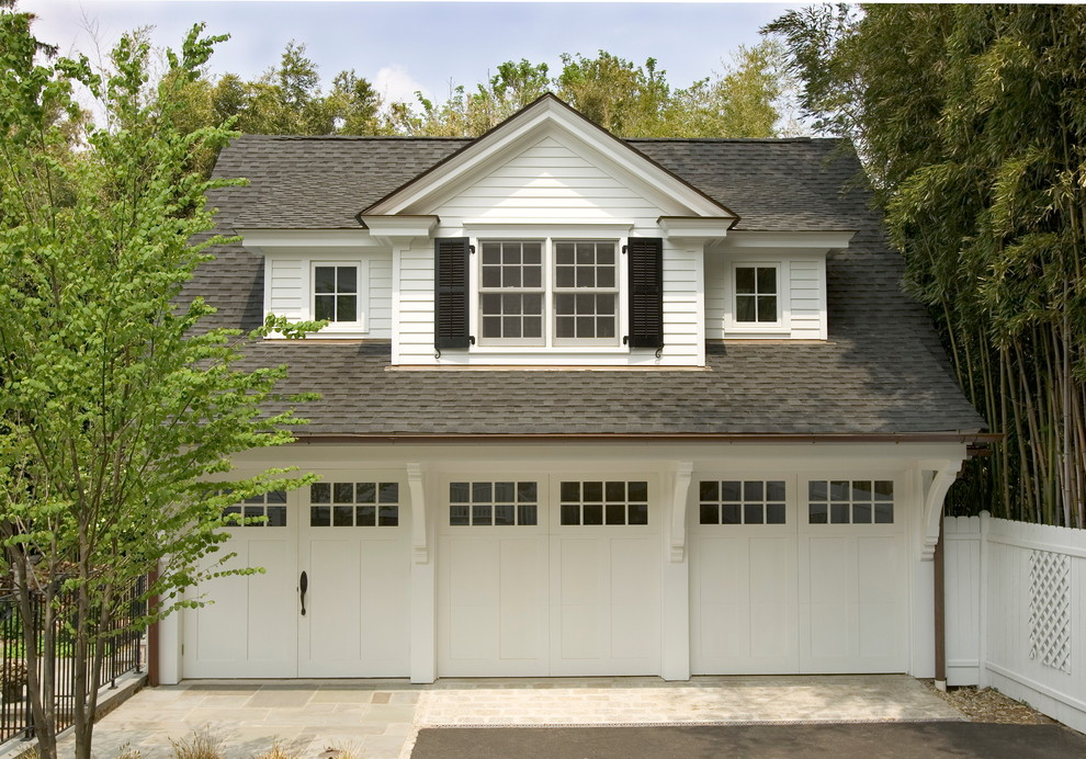 3 Car Garage Traditional Other By Lasley Brahaney Architecture Construction Houzz