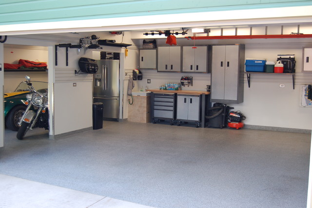 Garage Renovation Man Cave : Car garage remodel contemporary and shed