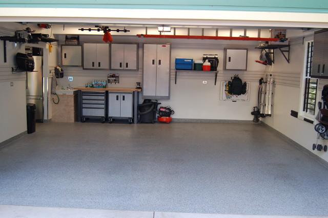 3 Car Garage Remodel Contemporary Garage Chicago By Bonterra Inc
