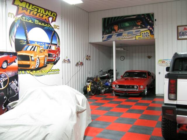 5000 sq foot Garage Makeover eclectic-garage-and-shed