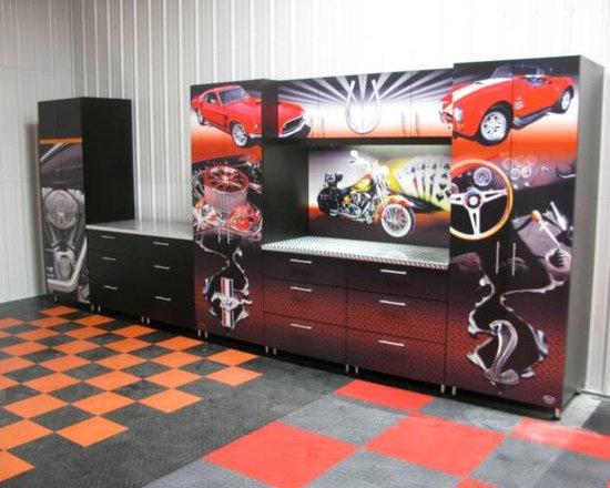 5000 sq foot garage makeover for Garage interieur