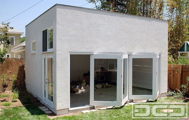 Accordion Glass Garage Doors For Man Caves Amp Home Office