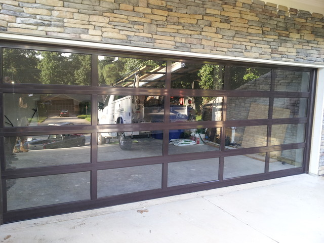 Aluminum Doors Traditional Garage And Shed Atlanta