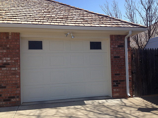 Amarillo Residential Garage Doors Traditional Garage
