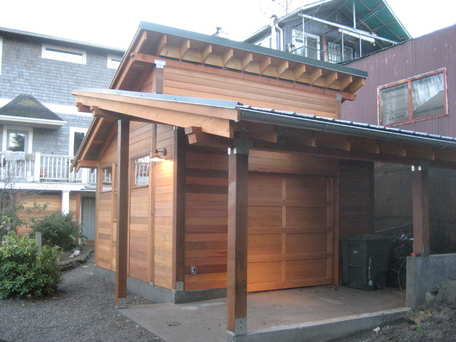 Asian Inspired Garage Asian Garage Seattle By