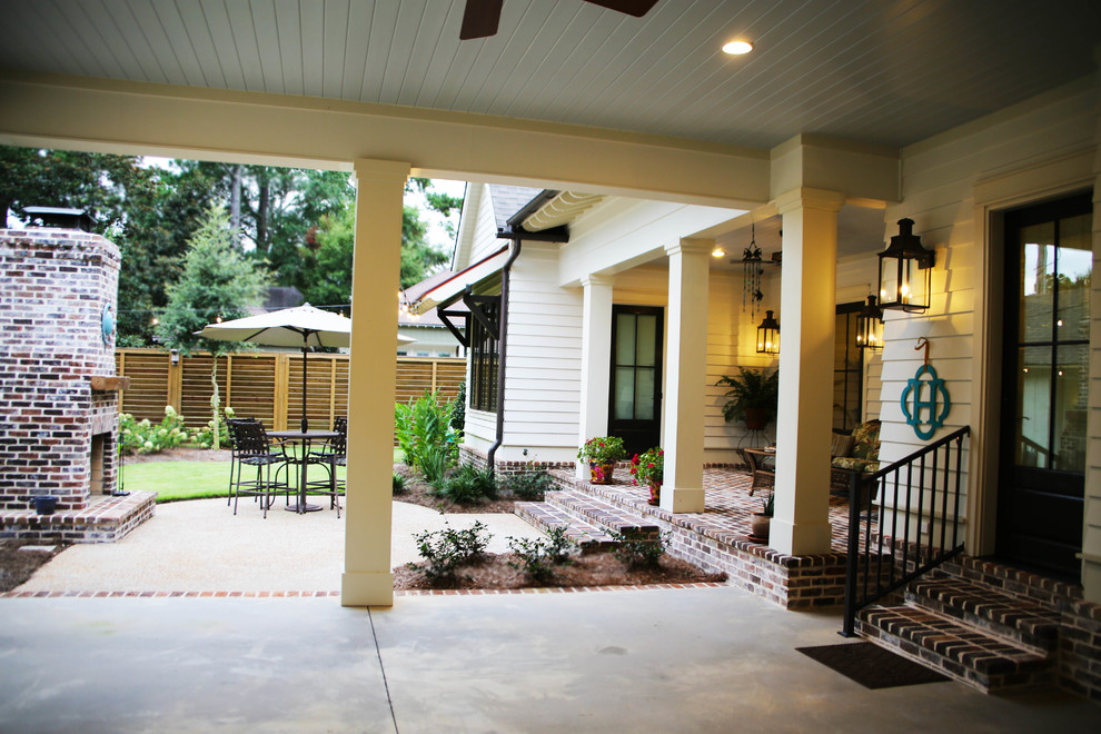 Example of a classic garage design in Other