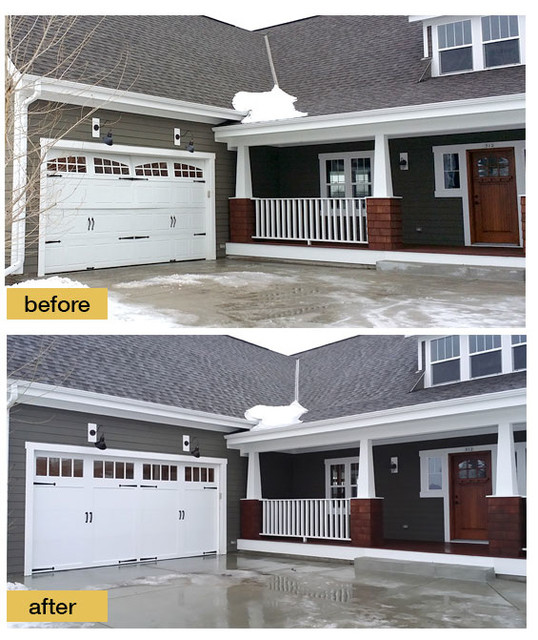 Before And After Garage Makeovers Craftsman