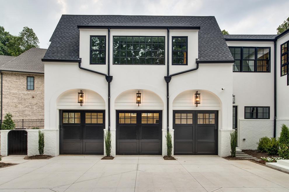 Inspiration for a garage remodel in Charlotte