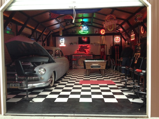 Man Caves Holland Ohio : Berry s mancave traditional garage other metro by