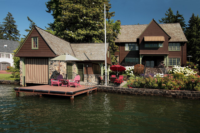 Boat Houses And Docks Traditional Garage Portland