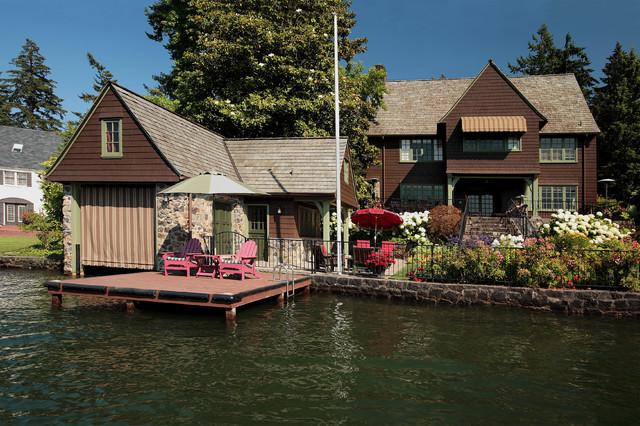 Boat Houses And Docks Traditional Garage Portland