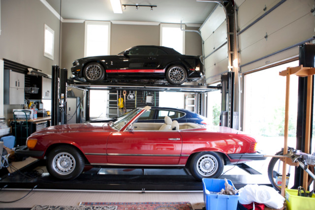 Buckhead modern-garage-and-shed