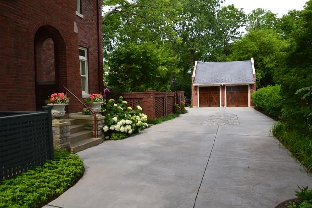 Burns Avenue - Traditional - Shed - cincinnati - by Architectural Landscape Design, Inc.
