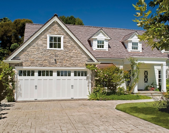 California Cottage Charmer - Traditional - Garage - Other - by Clopay ...