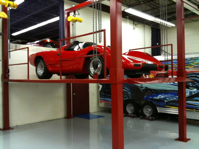 Car Lift Garage Sacramento By American Custom Lifts