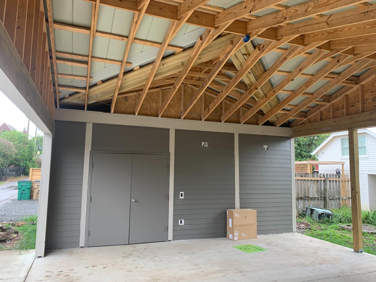 Carport and Storage closet Project