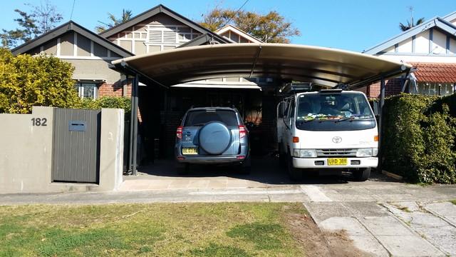 Carport Awnings Modern Garage Sydney By Outrigger
