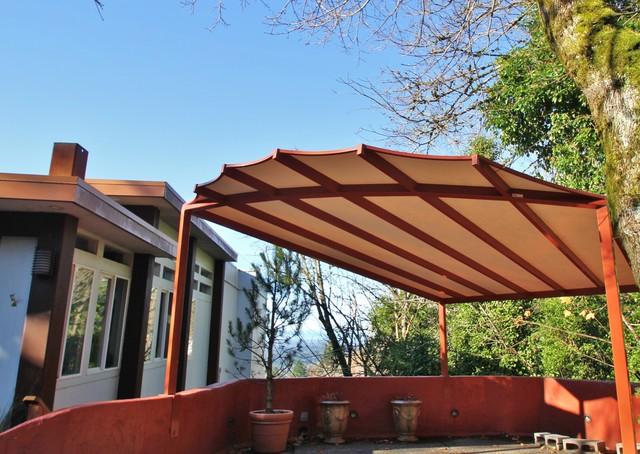 Carport canopy awning - Contemporary - Garage - Portland ...