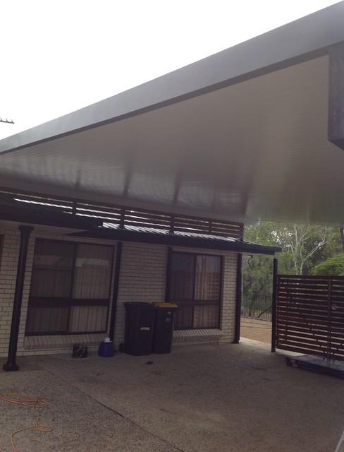 Modern Carport Garage: Carport Extension, Rockhampton