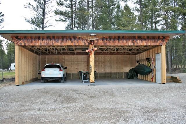 Carports garages craftsman garage vancouver by for Craftsman carport