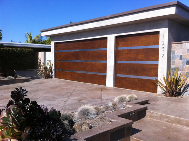 Carriage House Door Company Stain Grade Door Products contemporary-garage-and-shed
