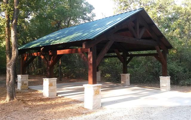 Cedar Carport In Pilot Point Texas