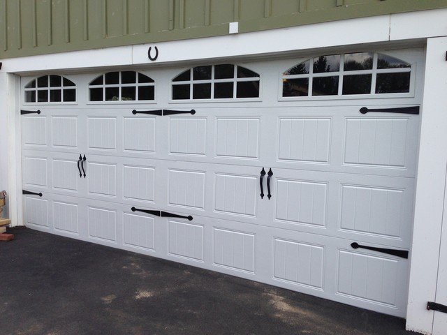 Clopay gallery garage doors farmhouse garage for Farmhouse garage doors