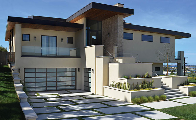 Clopay garage doors contemporary garage and shed san diego by automatic door specialists - Glass garage doors san diego ...