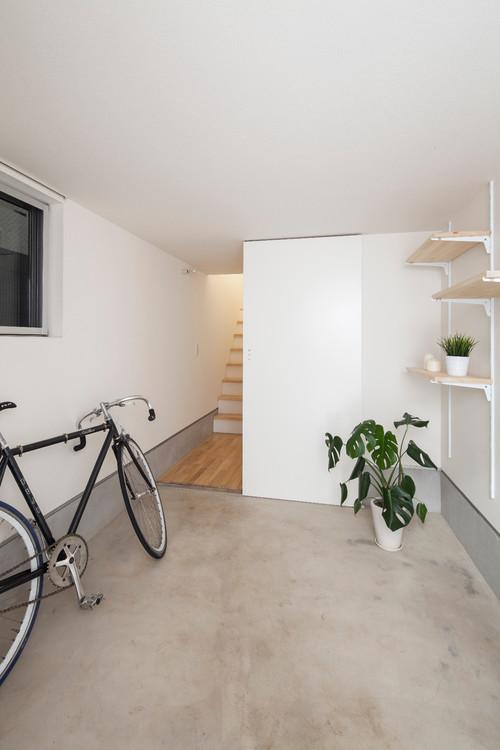 【Houzz】スポーツ用自転車を家の中に収納・保管する5つのアイデア 2番目の画像