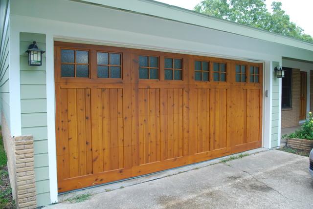 Cowart Door Carport Conversion Traditional Garage