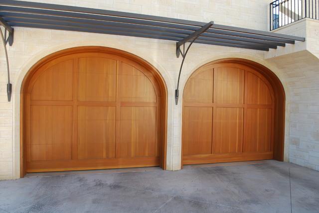 Cowart Door Contemporary Garage Doors Mediterranean
