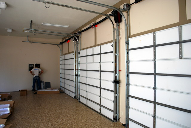 Garage door high lift