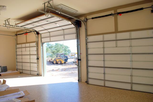 Cowart Door - Garage Door High Lift - Traditional - Garage And Shed - austin - by Cowart Door ...