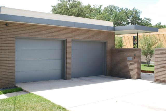 Cowart Door - Kynar Clad Garage Doors - Modern - Garage - Austin