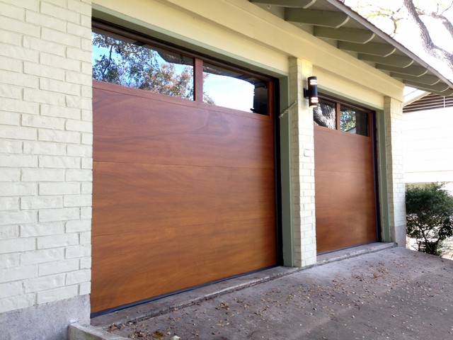 Cowart Door Modern Wood Garage Doors Contemporary Garage