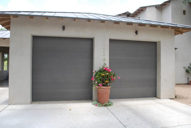 Cowart Door - Paint Grip Clad Garage Doors - Modern - Garage - Austin - by Cowart Door Systems