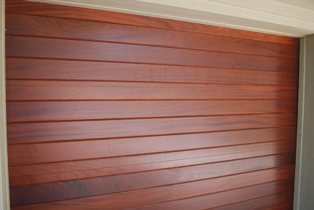 Cowart Door - Sapele mahogany modern-garage & Cowart Door - Sapele mahogany - Modern - Garage - Austin - by Cowart ...