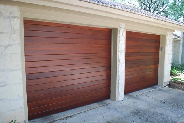 Cowart Door Wood On Steel Custom Doors Modern Garage