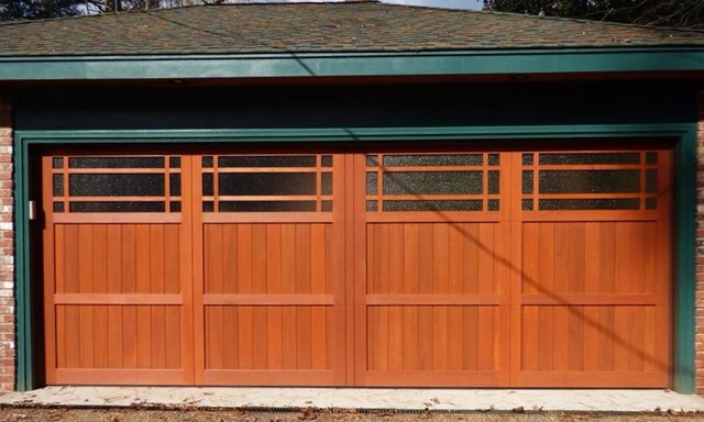 Craftsman garage doors craftsman garage atlanta by for Craftsman style garage lights