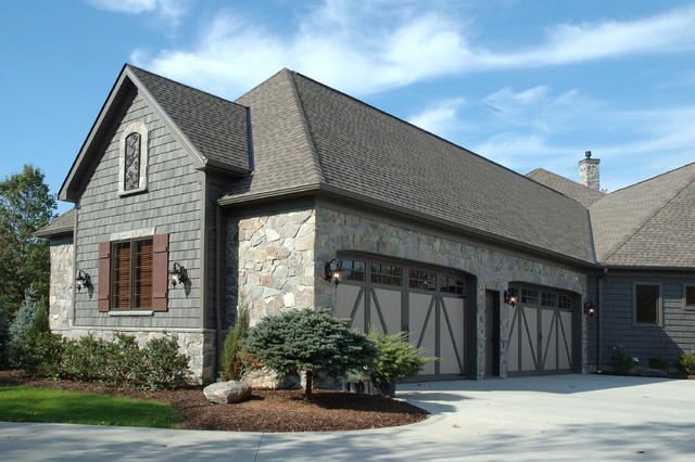 Custom Built Home eclectic-garage-and-shed