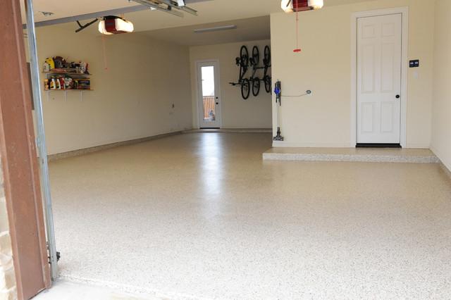 Custom Epoxy Floor Install In January 2014 Traditional