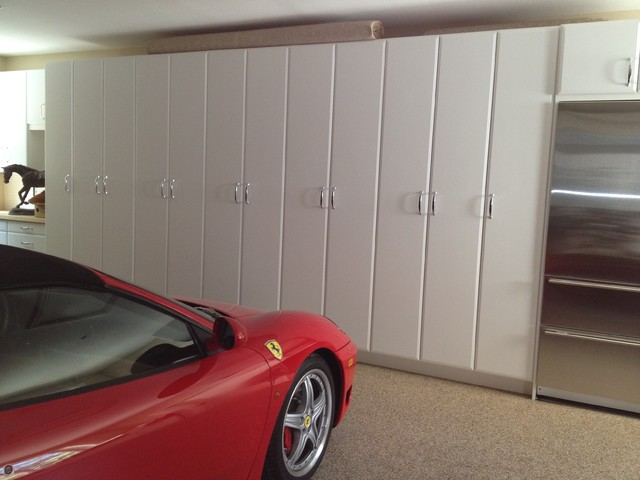 Custom Garage Cabinetry contemporary-garage-and-shed
