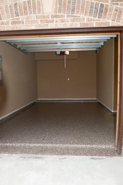 Custom Garage Floor - Highland Village, Flower Mound industrial-garage-and-shed