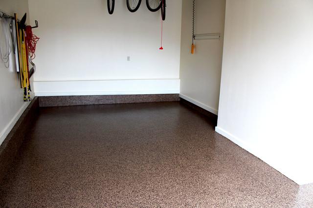 Custom garage floors traditional garage dallas by for Diamond cut floors
