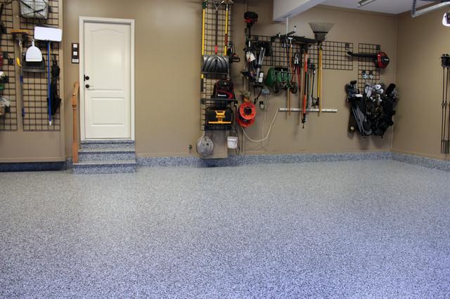 Custom Garage Floors Traditional Garage Dallas By