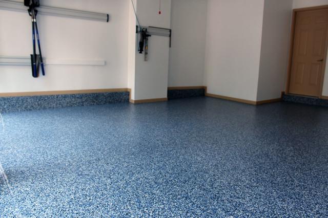 Custom garage floors traditional garage other by for Diamond cut floors